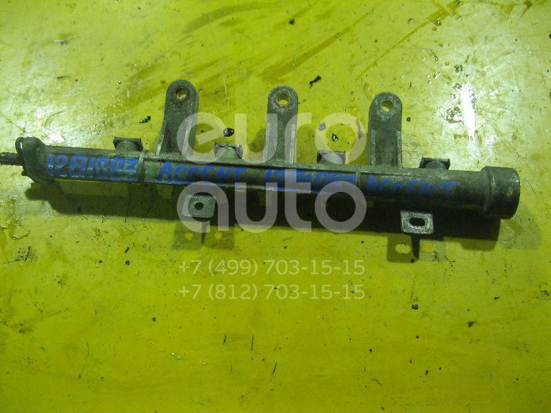 Рейка топливная (рампа) для Hyundai Accent II (+ТАГАЗ) 2000-2012 - Фото №1