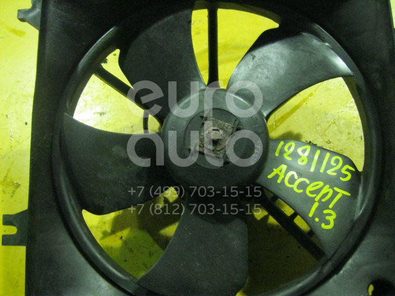 Крыльчатка для Hyundai Accent II (+ТАГАЗ) 2000-2012 - Фото №1