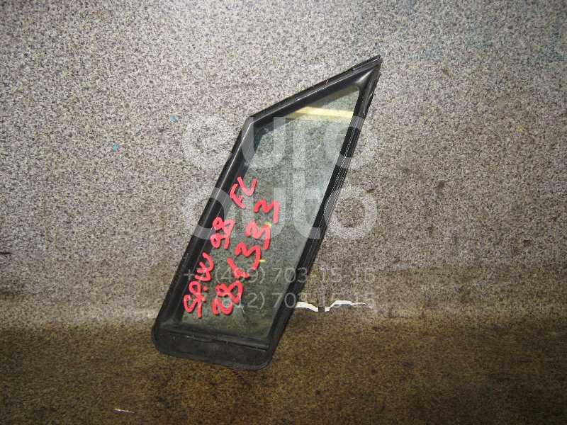 Стекло двери передней левой (форточка) для Mitsubishi Space Wagon (N8,N9) 1998-2004 - Фото №1