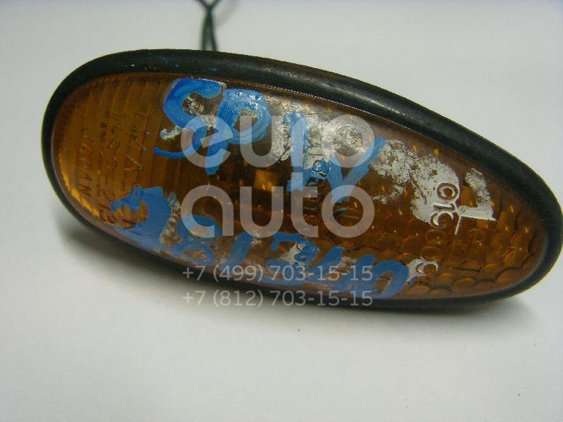 Повторитель на крыло желтый для Mitsubishi Space Wagon (N8,N9) 1998-2004;Space Wagon (N3,N4) 1991-2000;L400 1994-2006;Space Runner (N1,N2) 1991-1999;Space Gear 1995-2006;Eclipse II 1995-1999;Pajero/Montero Sport (K9) 1997-2008 - Фото №1