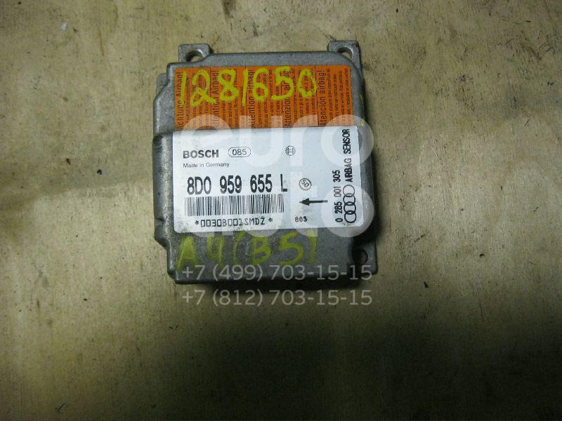 Блок управления AIR BAG для Audi A4 [B5] 1994-2000 - Фото №1
