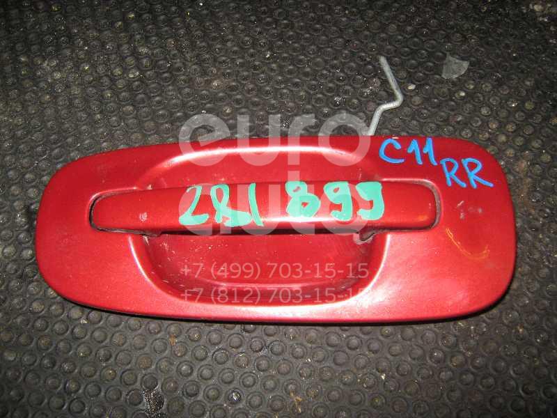 Ручка двери задней наружная правая для Subaru Impreza (G11) 2000-2007 - Фото №1