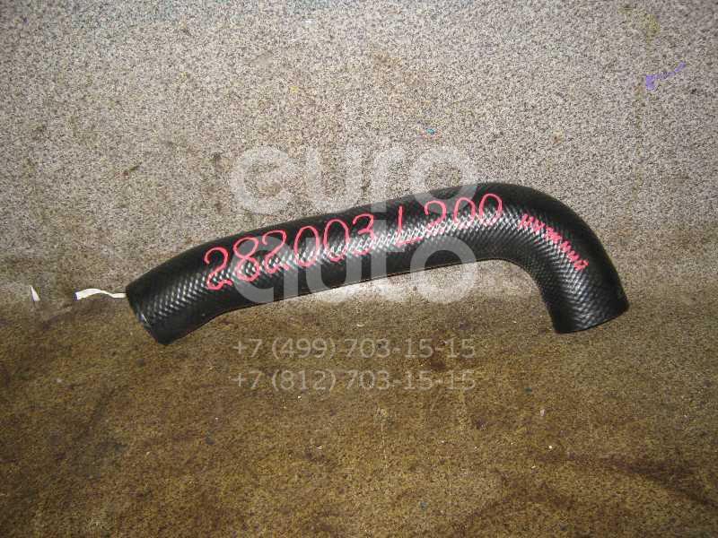 Патрубок интеркулера для Mitsubishi L200 (KB) 2006> - Фото №1