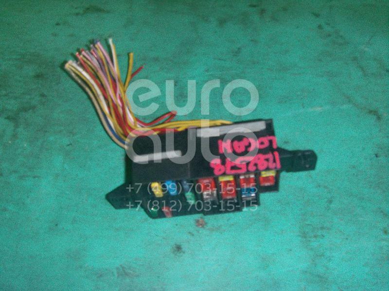 Блок предохранителей для Renault Logan 2005-2014;Sandero 2009-2014 - Фото №1