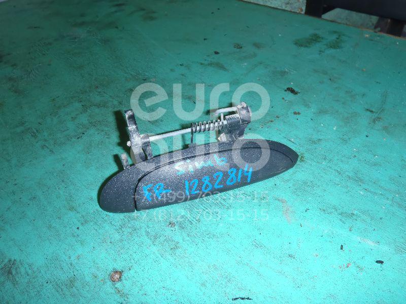 Ручка двери наружная правая для Renault Clio/Symbol 1998-2008;Megane 1996-1999;Logan 2005-2014;Megane 1999-2002;Scenic 1996-1999;Scenic 1999-2002 - Фото №1