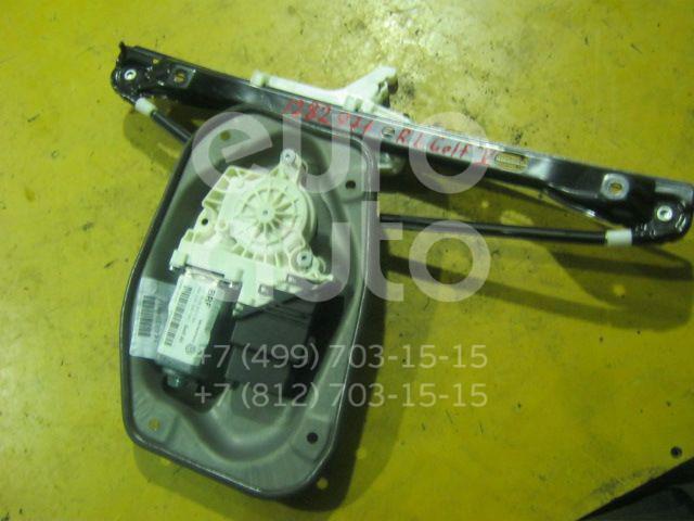Стеклоподъемник электр. задний левый для VW Golf V 2003-2009 - Фото №1