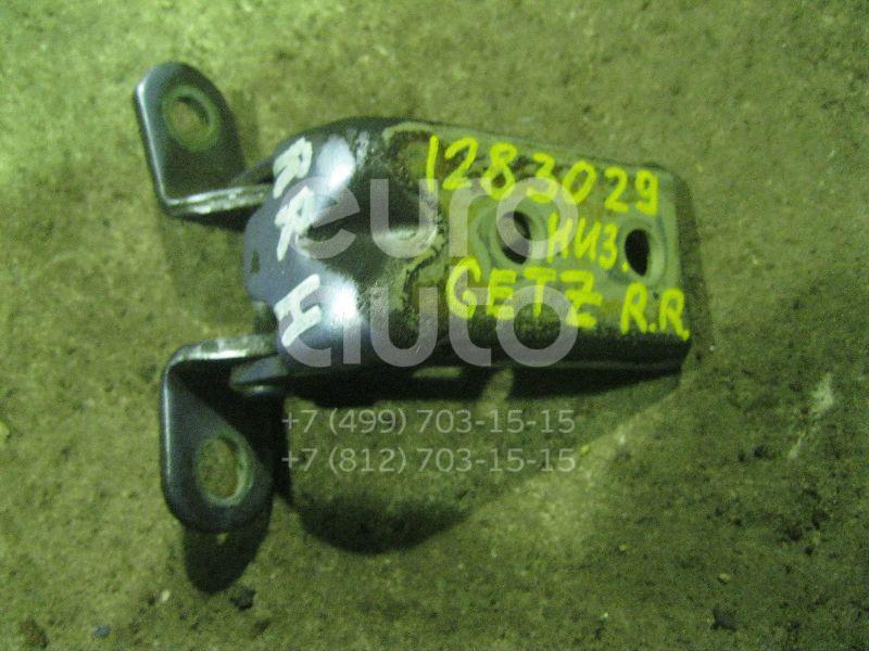 Петля двери задней правой нижняя для Hyundai Getz 2002-2010 - Фото №1