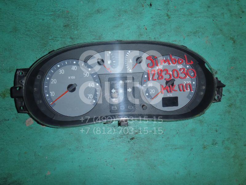 Панель приборов для Renault Clio II/Symbol 1998-2008 - Фото №1