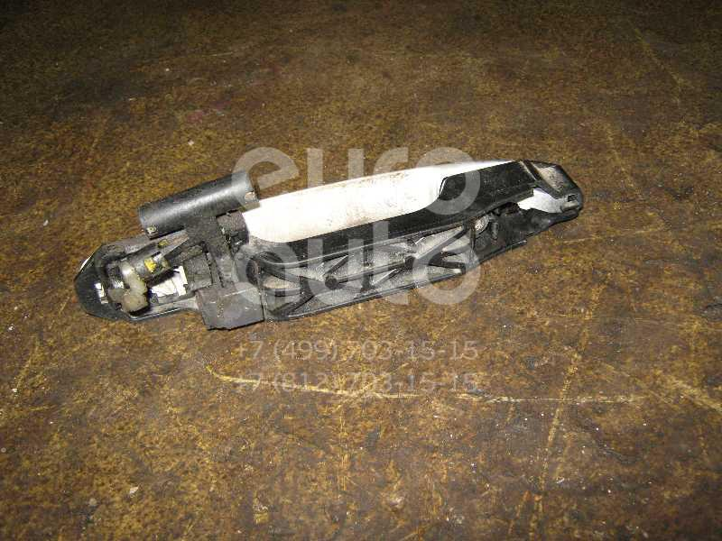 Ручка двери наружная для Toyota,Scion RAV 4 2000-2005;Avensis Verso (M20) 2001-2009;Corolla E12 2001-2007;RAV 4 2006-2013;Auris (E15) 2006-2012;Corolla E15 2006-2013;Highlander I 2001-2006;xA 2004-2006 - Фото №1