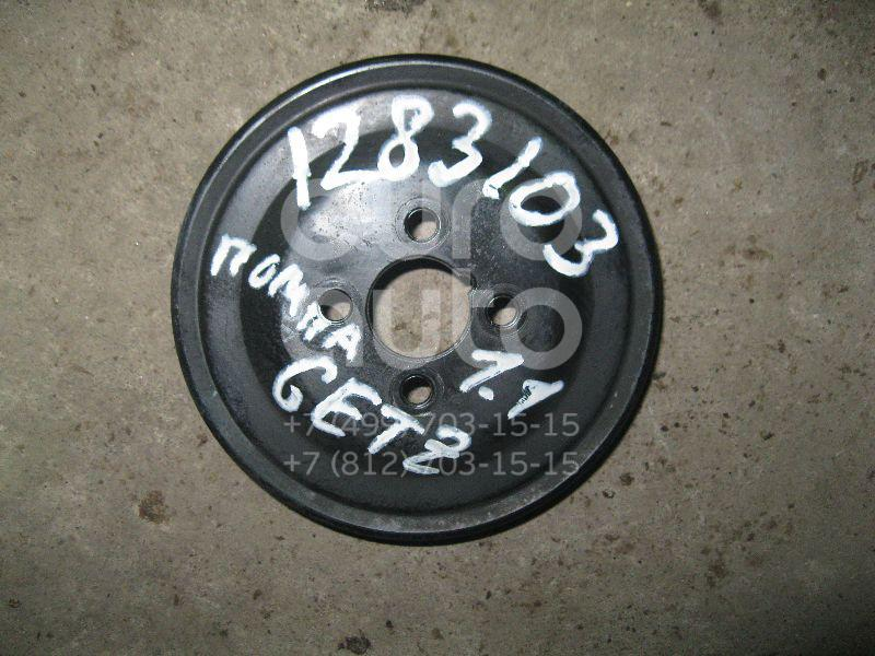 Шкив водяного насоса (помпы) для Hyundai Getz 2002-2010;Atos (MX) 1998-2003 - Фото №1