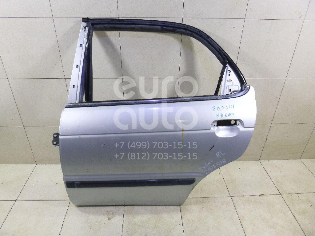 Дверь задняя левая для Suzuki Baleno 1998-2007;Baleno 1995-1998 - Фото №1