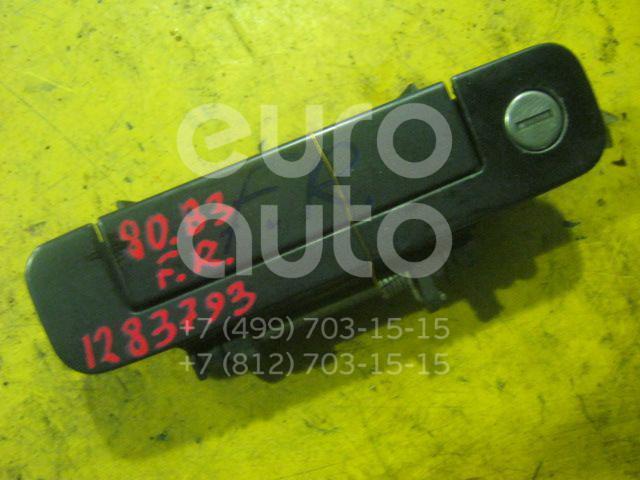 Ручка двери передней наружная правая для Audi 80/90 [B3] 1986-1991;100/200 [44] 1983-1991;80/90 [B4] 1991-1994 - Фото №1