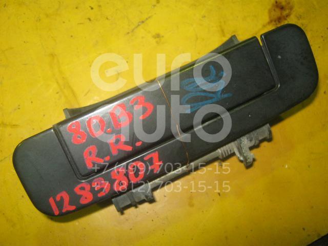 Ручка двери задней наружная правая для Audi 80/90 [B3] 1986-1991 - Фото №1