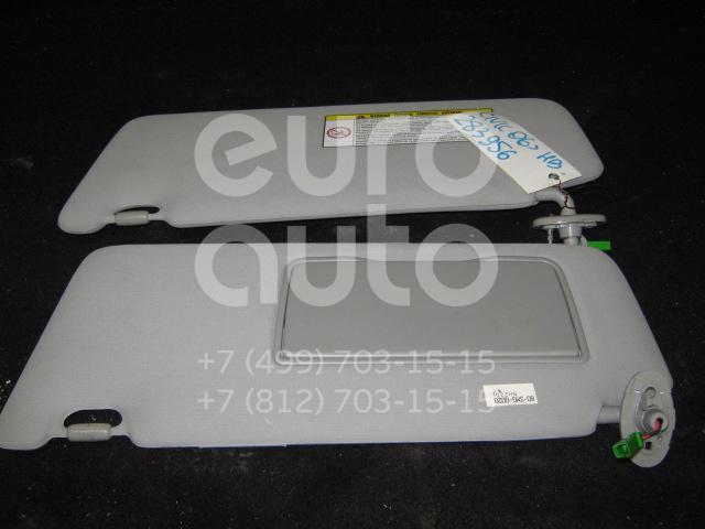 Козырек солнцезащитный (внутри) для Honda Civic 5D 2006-2012 - Фото №1