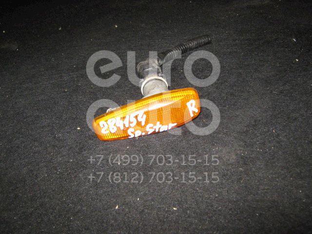 Повторитель на крыло желтый для Mitsubishi Space Star 1998-2004;Carisma (DA) 1995-2000 - Фото №1