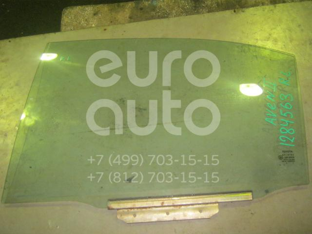 Стекло двери задней левой для Toyota Avensis II 2003-2008 - Фото №1