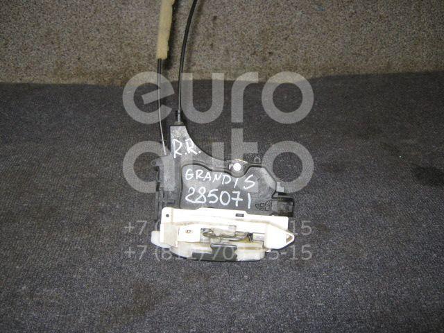 Замок двери задней правой для Mitsubishi Grandis (NA#) 2004-2010;Outlander XL (CW) 2006-2012 - Фото №1