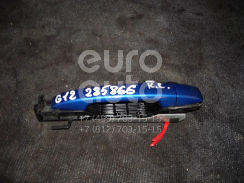Ручка двери задней наружная левая для Subaru Impreza (G12) 2007-2012 - Фото №1