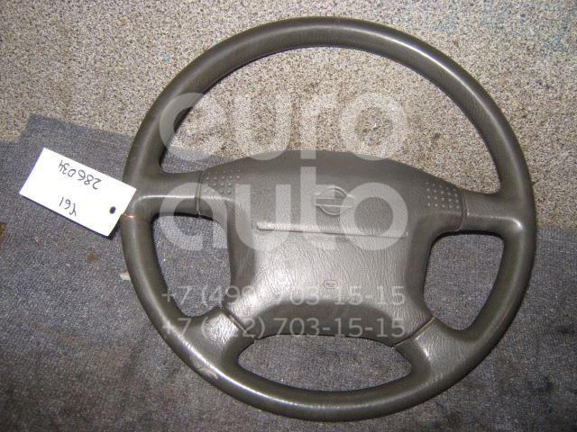 Рулевое колесо с AIR BAG для Nissan Patrol (Y61) 1997-2009 - Фото №1