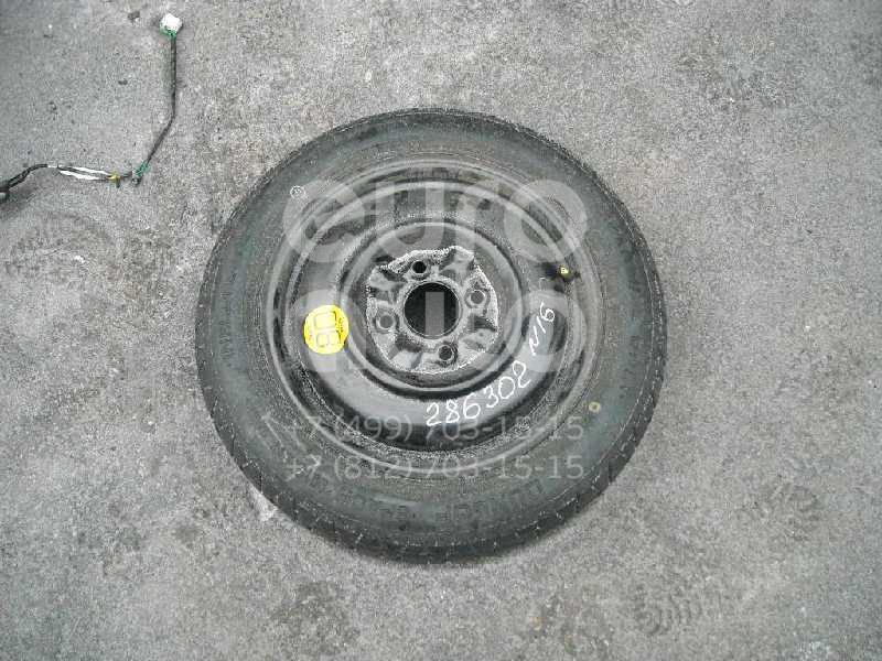 Диск запасного колеса (докатка) для Nissan Almera N16 2000-2006;Primera P11E 1996-2002 - Фото №1