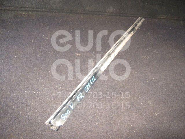 Накладка стекла переднего правого для Hyundai Sonata IV (EF)/ Sonata Tagaz 2001-2012 - Фото №1