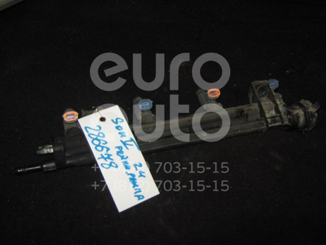 Рейка топливная (рампа) для Hyundai Sonata IV (EF)/ Sonata Tagaz 2001-2012 - Фото №1