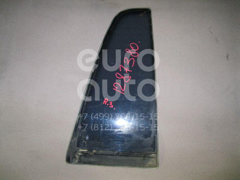 Стекло двери задней правой (форточка) для Kia Sportage 1994-2004 - Фото №1