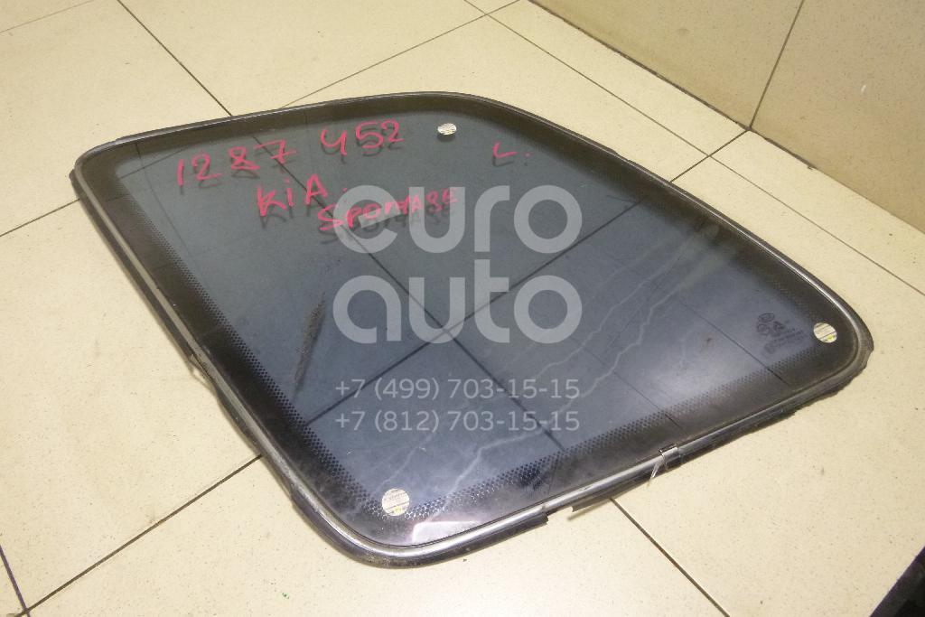 Стекло кузовное глухое левое для Kia Sportage 1994-2004 - Фото №1