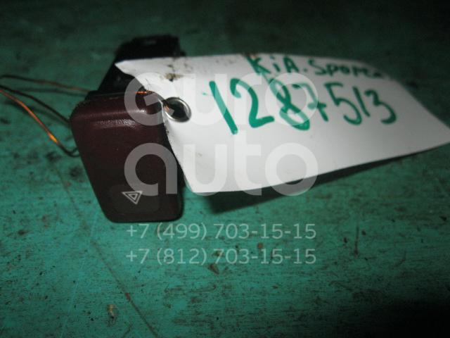 Кнопка аварийной сигнализации для Kia Sportage 1994-2004 - Фото №1