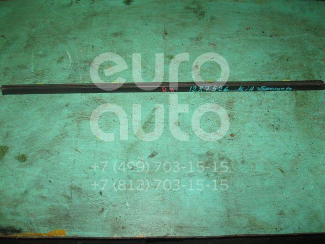 Накладка стекла переднего правого для Kia Sportage 1993-2006 - Фото №1
