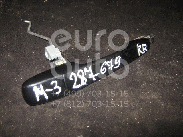 Ручка двери передней наружная правая для Mazda Mazda 3 (BK) 2002-2009;Mazda 5 (CR) 2005-2010;Mazda 6 (GG) 2002-2007;CX 7 2007-2012;RX-8 2003-2012 - Фото №1