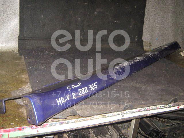 Накладка на порог (наружная) для Honda HR-V 1999-2005 - Фото №1