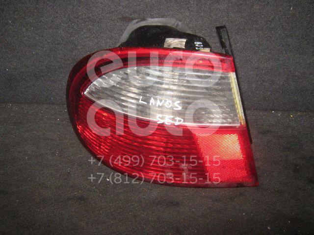 Фонарь задний наружный левый для Daewoo Lanos 1997-2009 - Фото №1