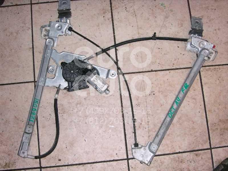 Стеклоподъемник электр. передний правый для Skoda Octavia (A4 1U-) 2000-2011;Octavia 1997-2000 - Фото №1