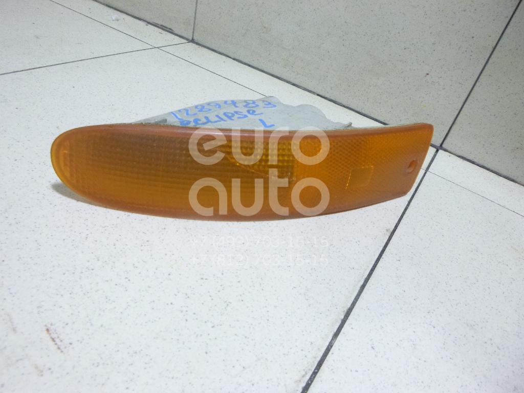 Указатель поворота в бампер левый желтый для Mitsubishi Eclipse III 1999-2005 - Фото №1