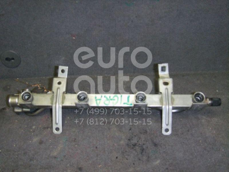 Рейка топливная (рампа) для Opel Tigra 1994-2000;Astra F 1991-1998;Vectra B 1995-1999;Corsa C 2000-2006 - Фото №1