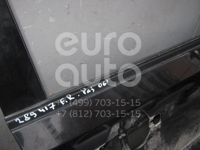 Накладка стекла переднего правого для Mitsubishi Pajero/Montero IV (V8, V9) 2007>;Pajero/Montero III (V6, V7) 2000-2006 - Фото №1