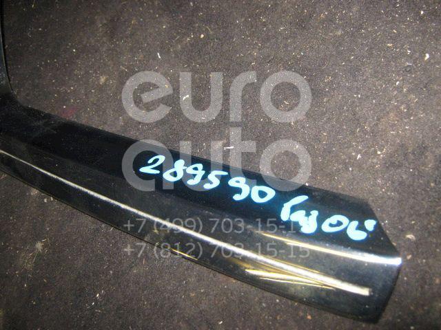Накладка на решетку радиатора для Mitsubishi Pajero/Montero IV (V8, V9) 2007> - Фото №1