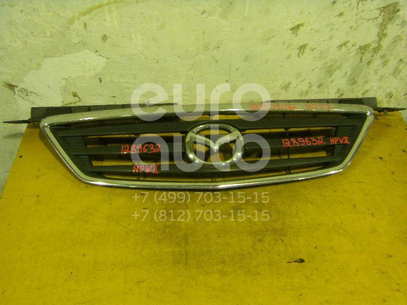 Решетка радиатора для Mazda MPV II (LW) 1999-2006 - Фото №1