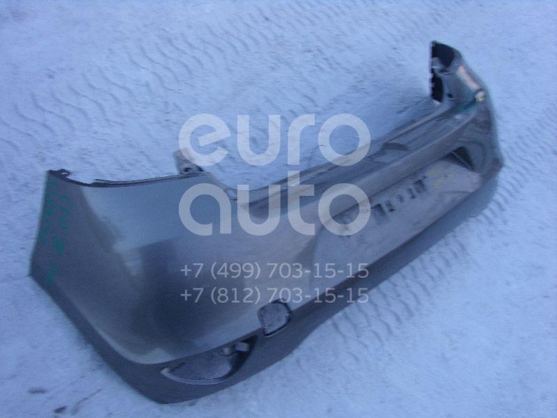 Бампер задний для Renault Clio III 2005-2012 - Фото №1
