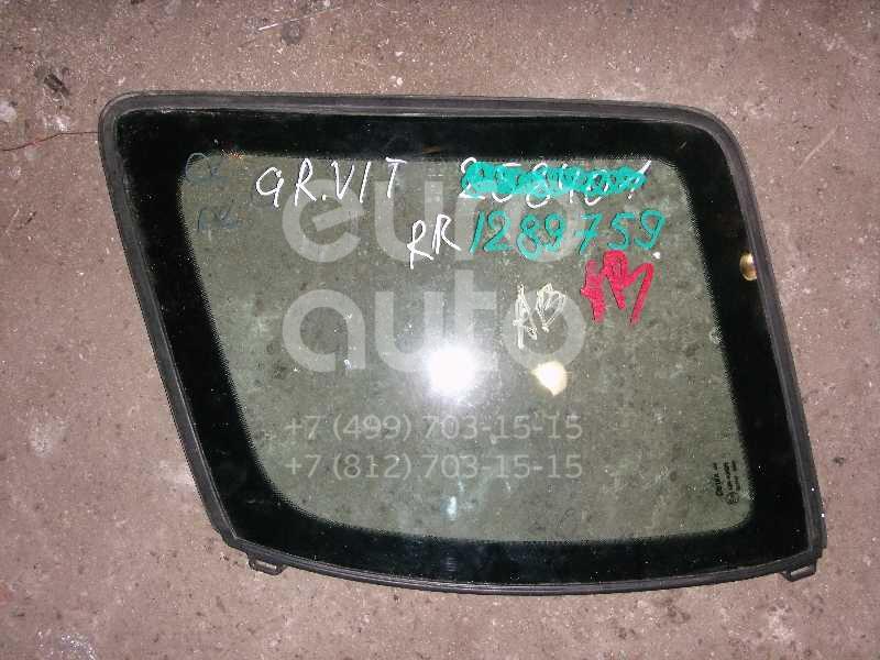 Стекло кузовное глухое правое для Suzuki Grand Vitara 1998-2005 - Фото №1