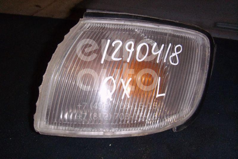 Указатель поворота левый белый для Nissan Maxima (A32) 1994-2000 - Фото №1