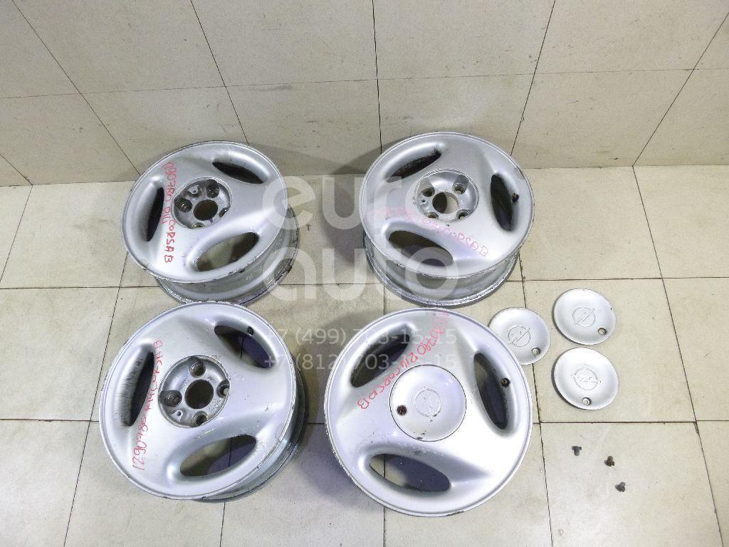 Диски колесные легкосплавные (к-кт) для Opel Corsa B 1993-2000 - Фото №1