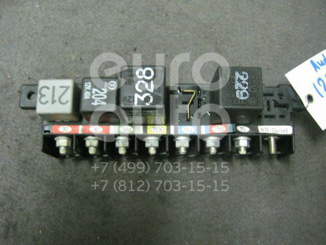 Блок предохранителей для Audi 100 [C4] 1991-1994;A4 [B5] 1994-2001;A6 [C4] 1994-1997;A8 [4D] 1994-1998 - Фото №1