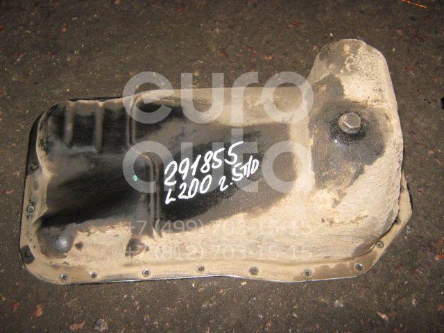 Поддон масляный двигателя для Mitsubishi L200 (KB) 2006-2016;Pajero/Montero Sport (KH) 2008-2015 - Фото №1