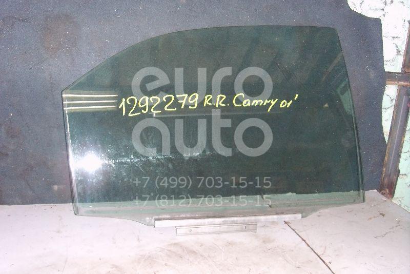 Стекло двери задней правой для Toyota Camry V30 2001-2006 - Фото №1