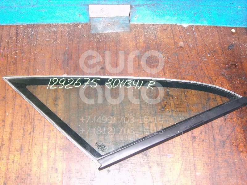 Стекло кузовное глухое правое для Audi 80/90 [B4] 1991-1994 - Фото №1