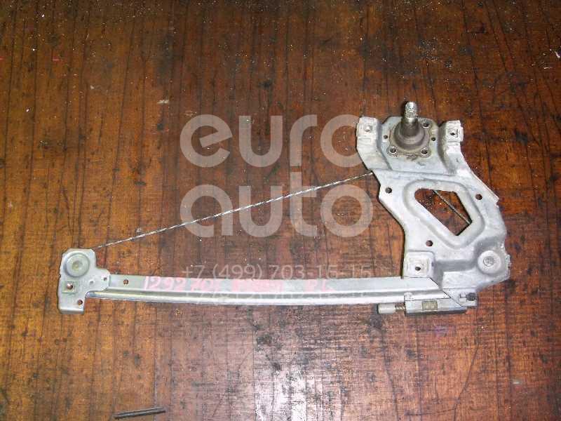 Стеклоподъемник механ. задний левый для Audi 80/90 [B4] 1991-1994;80/90 [B3] 1986-1991 - Фото №1