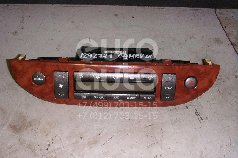 Блок управления климатической установкой для Toyota Camry V30 2001-2006 - Фото №1