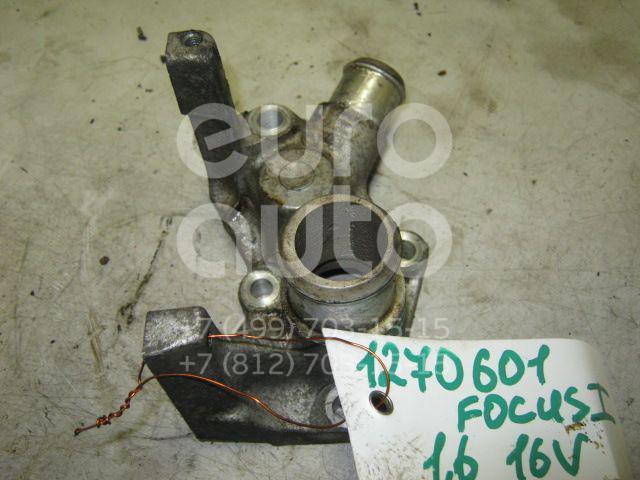 Фланец двигателя системы охлаждения для Ford Focus I 1998-2004;Focus II 2005-2008;Fusion 2002>;C-MAX 2003-2011;Fiesta 2001-2007;Mondeo IV 2007-2015;Focus II 2008-2011;Fiesta 2008> - Фото №1
